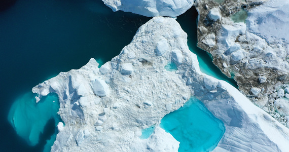 Greenland: the surprising effect of melting glaciers.  Large amounts of mercury