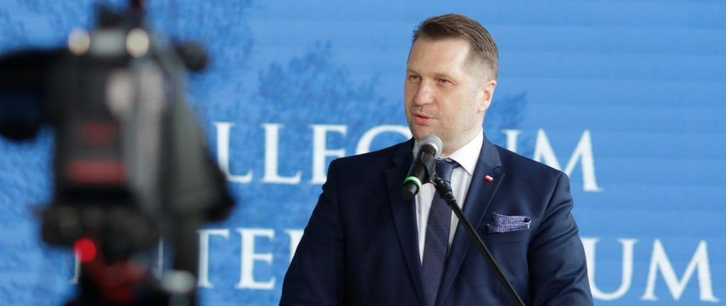 Inauguration conference for the construction of the Collegium Intermarium with the participation of Minister Przemysław Czarnek - Ministry of Education and Science