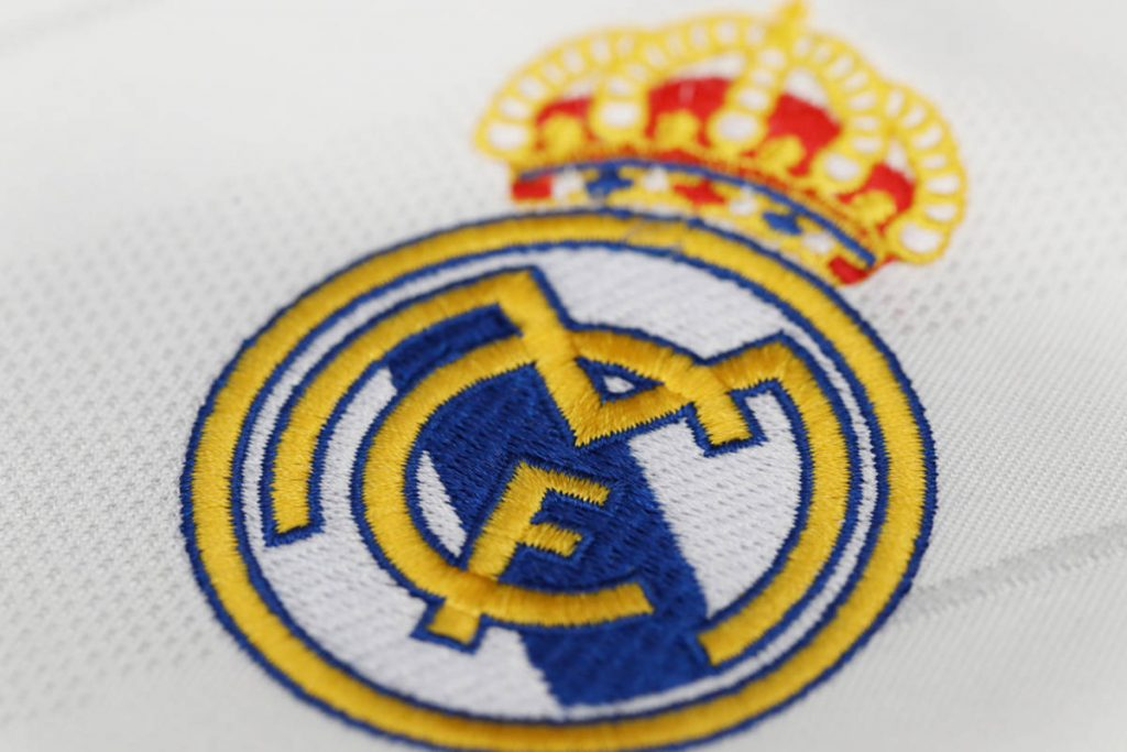 Real Madrid's most valuable football brand.  Juventus behind the top ten
