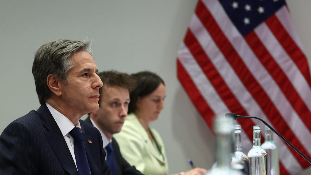 The United States does not want to buy Greenland.  Secretary of State Anthony Blingen made the announcement