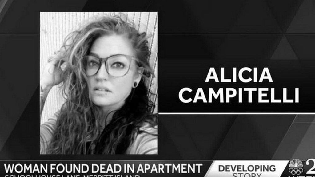 """The horrific death of Alicia Campitelli.  The matter was resolved by recording.  """"She killed her brother."""""""