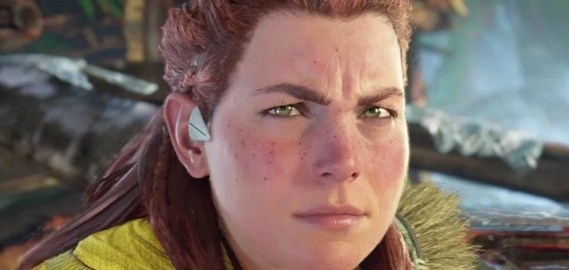 The horizon is forbidden to the west.  The controversy over the appearance of Aloy is a sign of our time