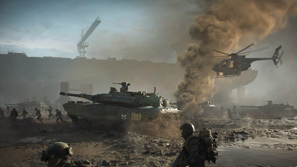 Battlefield 2042 - October premiere, gameplay footage and details