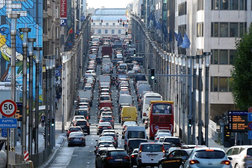 Brussels authorities have agreed to ban diesel engines and even all internal combustion vehicles