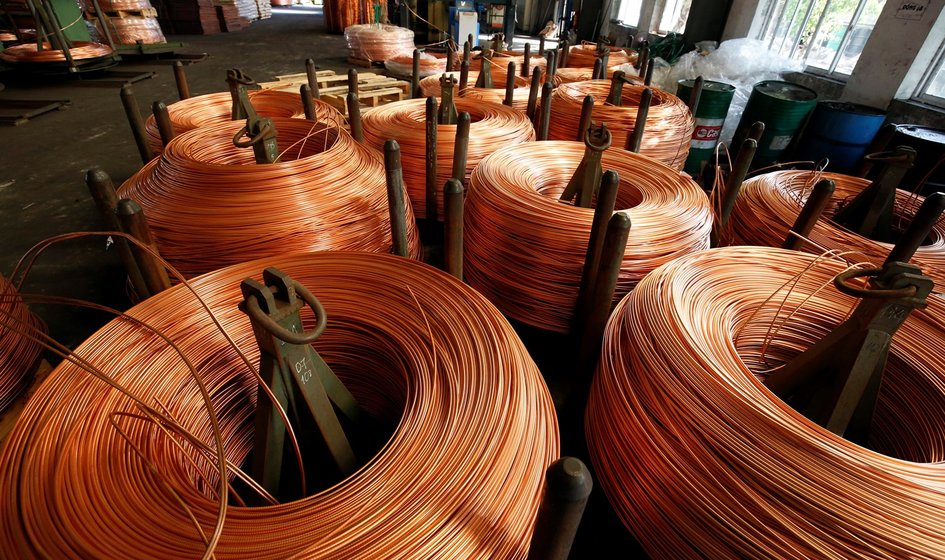 Copper has become more expensive in response to U.S. infrastructure projects