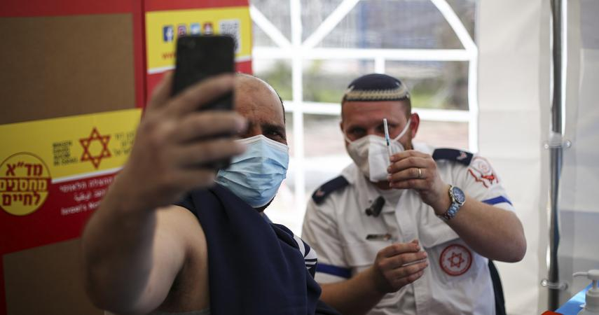 Corona Virus.  Israel says that half of those infected with the Delta Corona virus are vaccinated