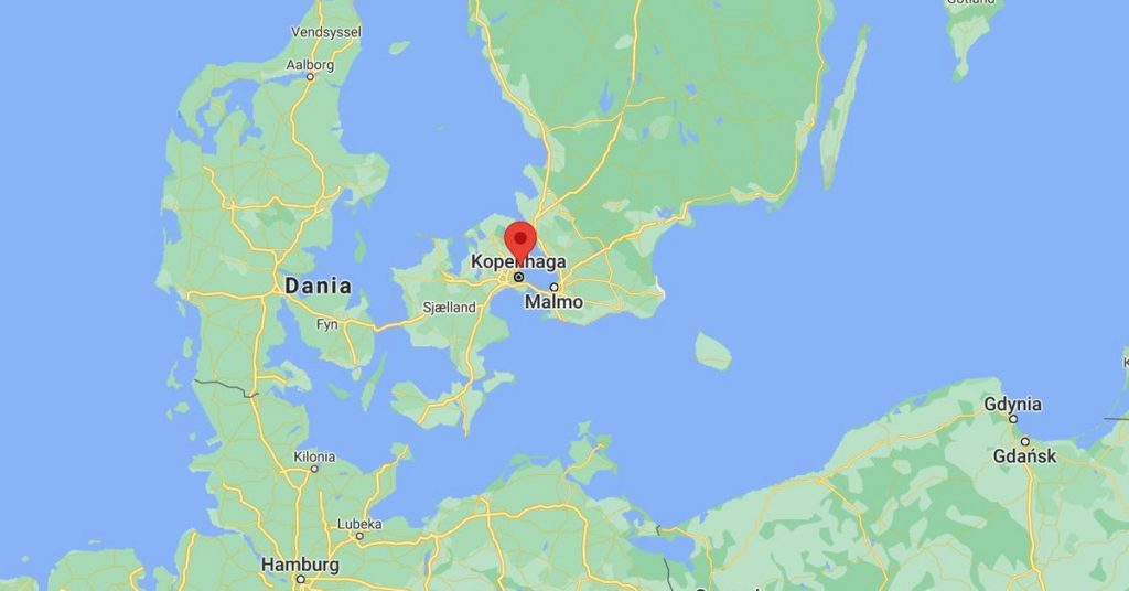 Denmark.  Sewer pipeline broke.  The sewage will go to the Baltic Sea