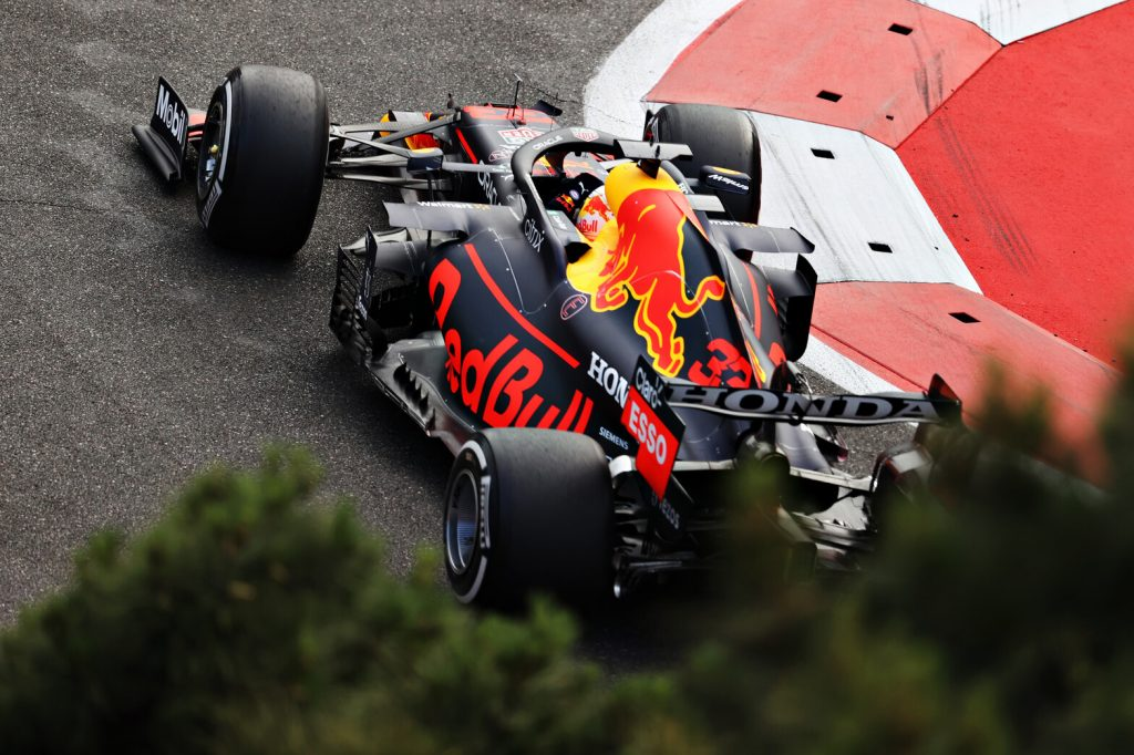 F1.  Blown tires care about emotions.  Azerbaijan race is full of drama