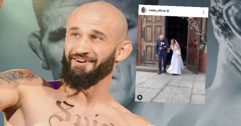 """KSW 62. Artur """"Kornik"""" Sowiński and Mała Ania are married from Warsaw Shore.  There are pictures"""