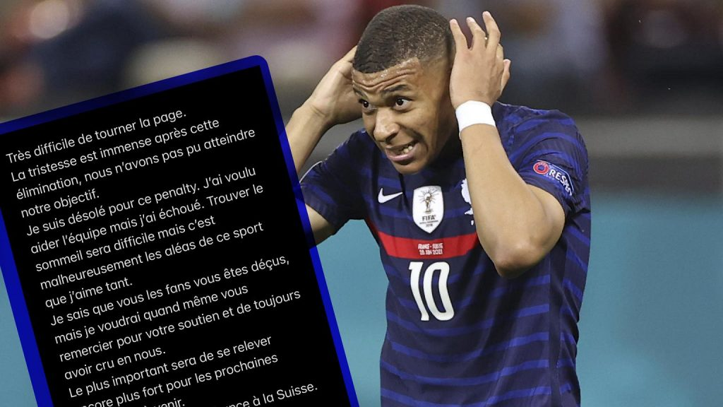 Kylian Mbappe sent a message to the fans after the France match