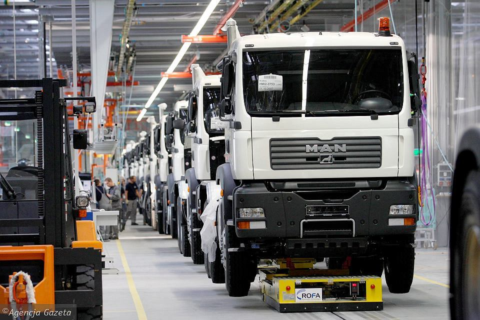 MAN will expand factories near Krakow.  You will invest millions of euros