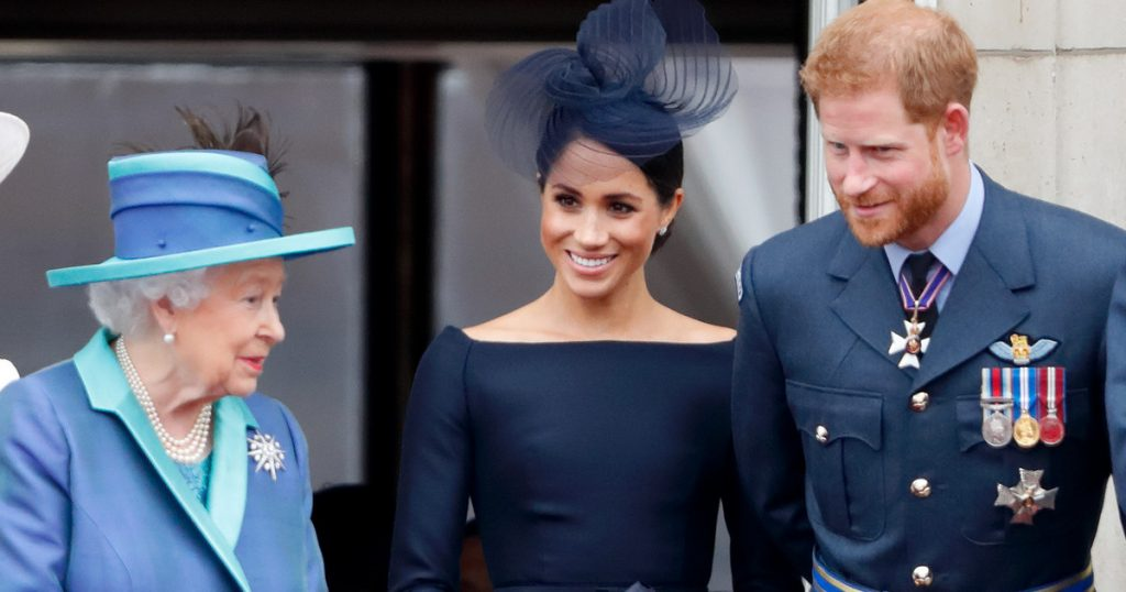 Meghan Markle and Prince Harry gave Elizabeth II to her great-granddaughter
