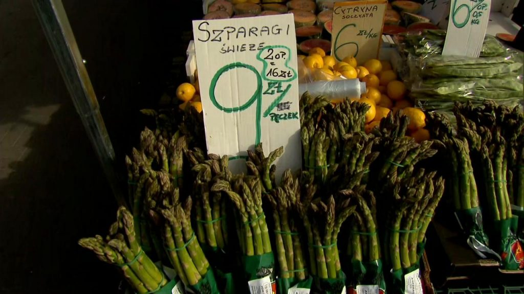 Prices of vegetables and fruits in Poland.  Macej camera about the situation in trade