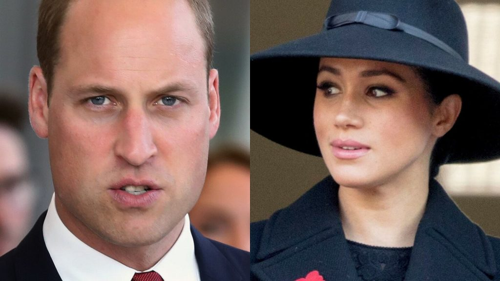 Prince William called Meghan Markle.  Leaked as he called it.  The Queen would not be pleased with such language