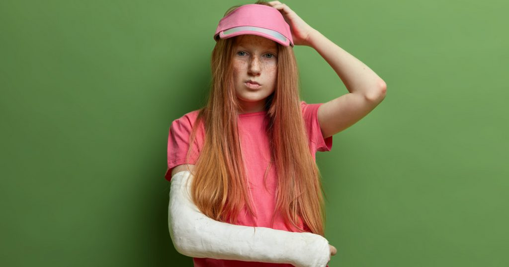 School accident insurance.  Has distance learning reduced the number of accidents?