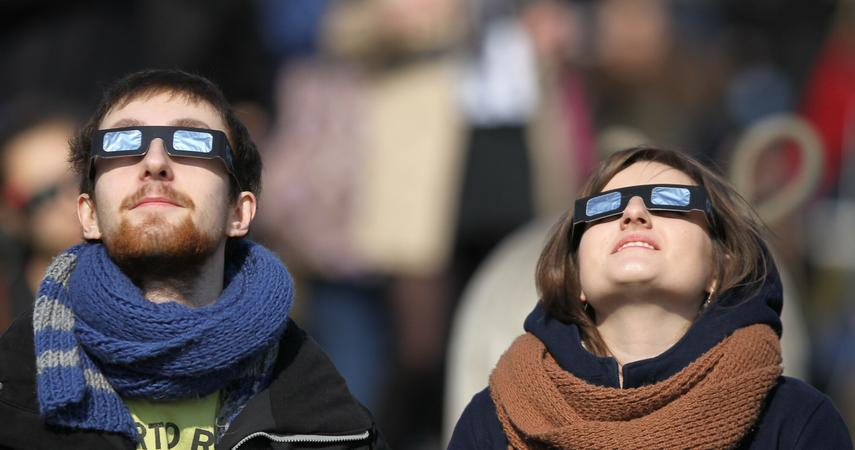 The solar eclipse on June 10 will also be visible from Poland