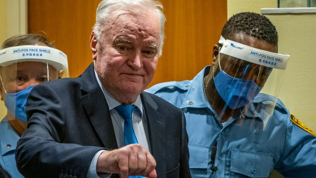 """There is a final verdict regarding General Ratko Mladic.  The """"Butcher of Bosnia"""" is sentenced to life imprisonment 