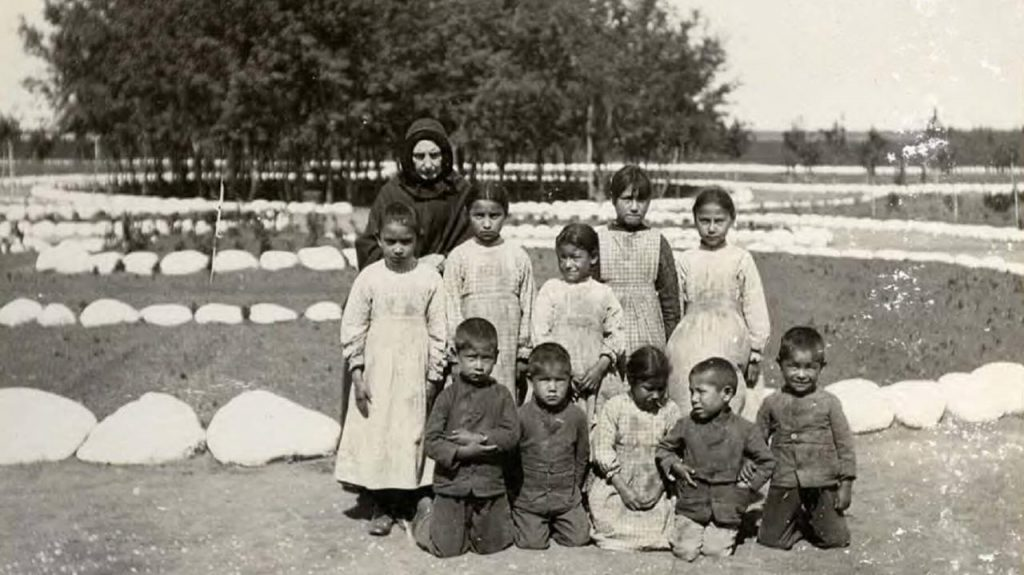 Mass graves of Indian children in Canada.  The Catholic Church has not yet apologized