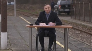 """The trains will return to Konsky.  There was Andrzej Duda signed the law on the podium """"Railway Plus"""""""