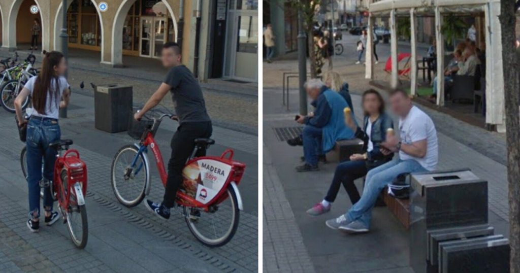 The capture of the inhabitants of Gliwice by Google cameras!  Maybe you are also in Street View photos?