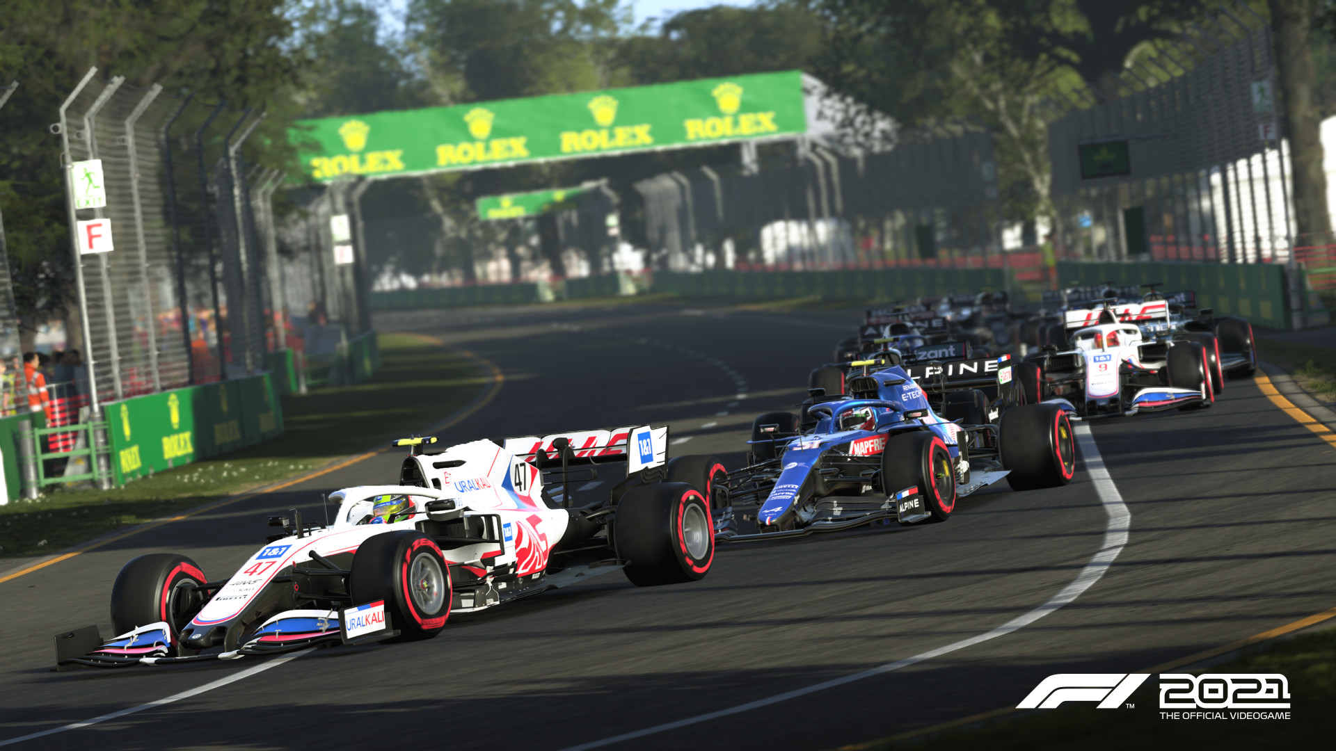 F1 2021 game review - Melbourne