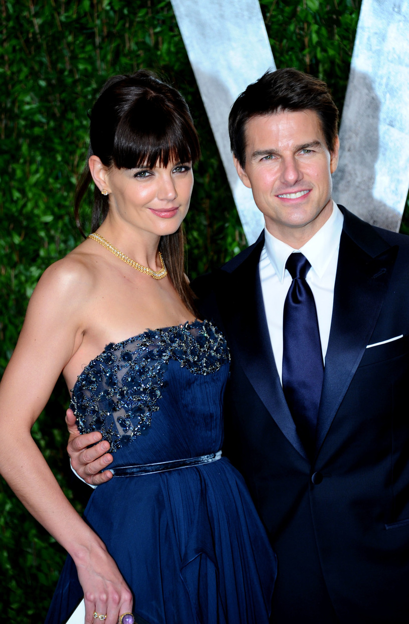 Katie Holmes with her ex-husband, Tom Cruise / Alberto E. Rodriguez / Getty Images