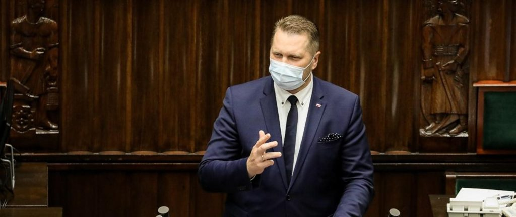 Voting in the Chamber of Deputies - support for the activities of the Minister of Education and Science Przemyslav Kazarnik - Ministry of Education and Science
