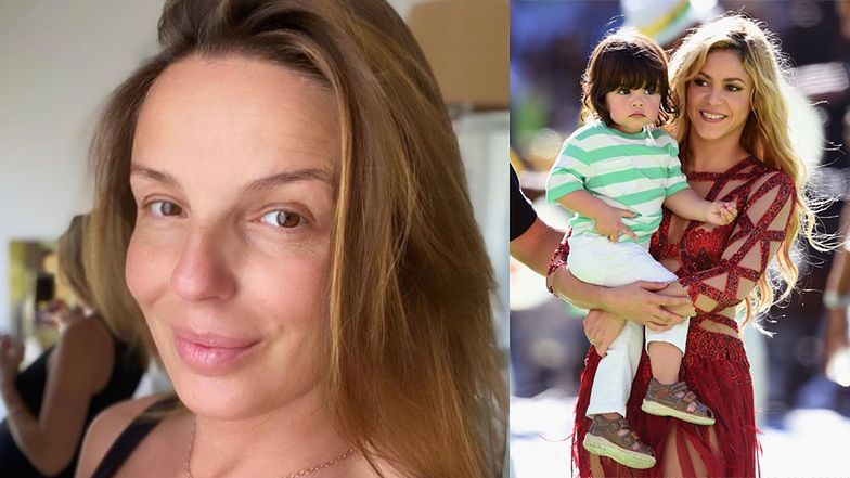 """Agnieszka Włodarczyk explains the meaning of the name """"Milan"""" and states that this is also the name of Shakira's son"""