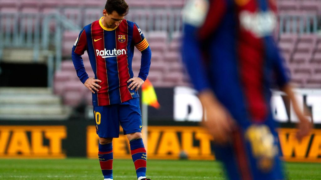 Barcelona can not register Messi and new players!  Football problems and troubles