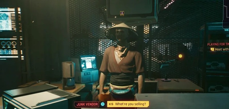 Cyberpunk 2077 and truncated content.  One player dug into the game version before the premiere patch