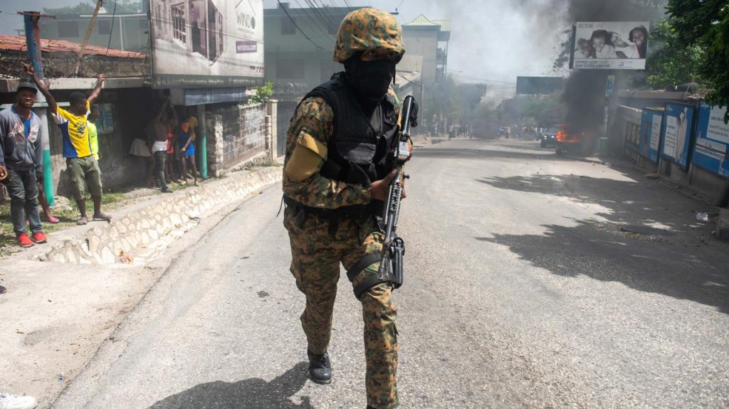 Haiti.  Assassination of President Juvenal Moyes.  The authorities are asking the United States and the United Nations for military assistance