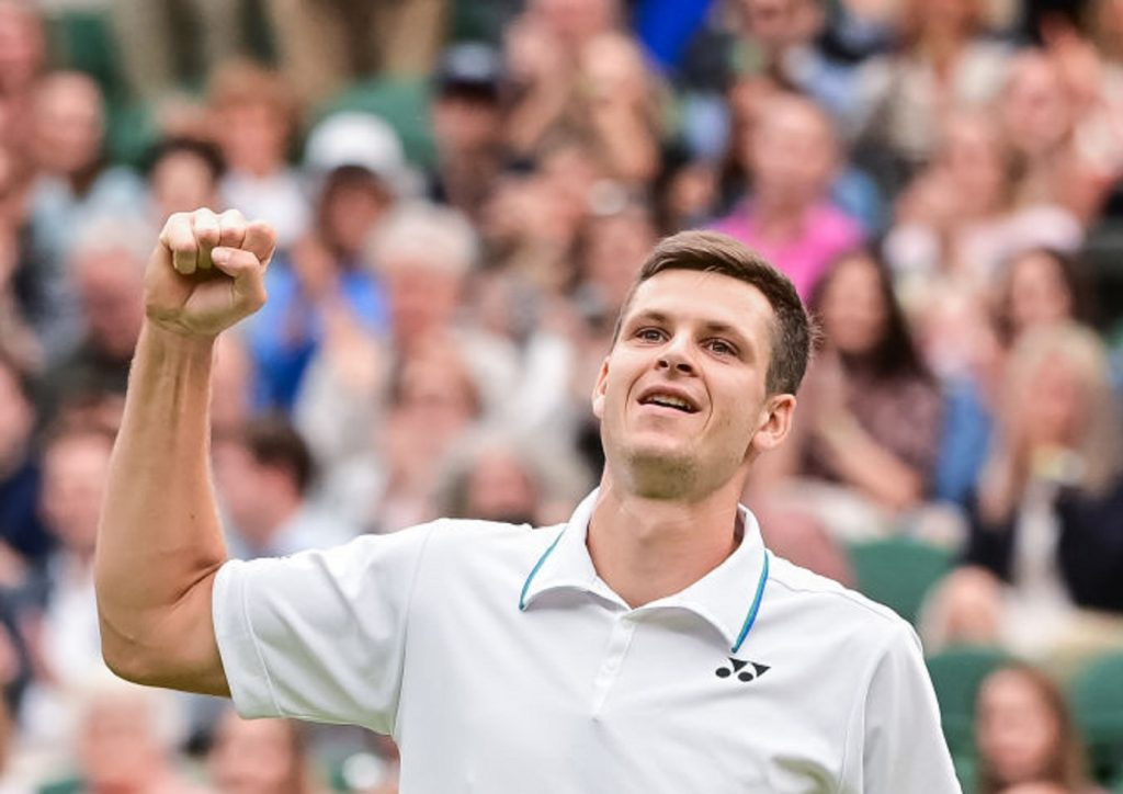 Hubert Hurkacz will play in the Wimbledon final.  We know the date of the match!  (transition)