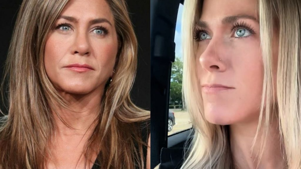 Jennifer Aniston has doppelgangers online!  Tiktokerka is making quite a stir thanks to her resemblance to the actress
