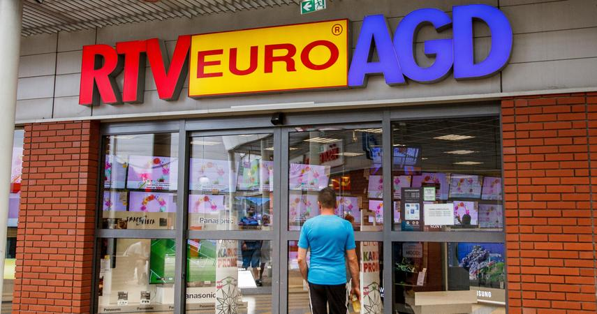 RTV Euro AGD has opened an outlet