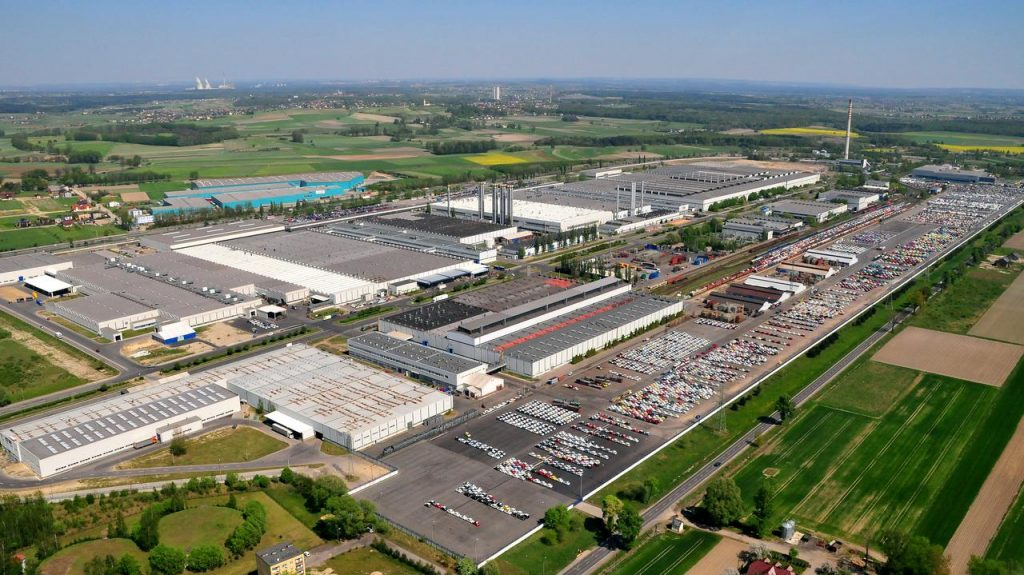 Stilants - factory in Tychy.  Production stopped due to missing components