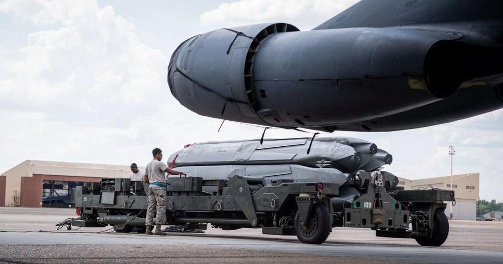 The United States is investing in long-range nuclear missiles