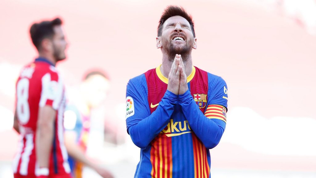 Twenty years in Barcelona and it's over?  Leo Messi became a free soccer player!  football