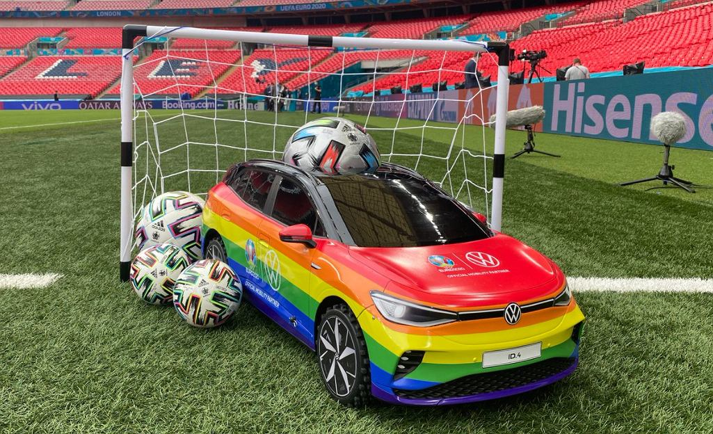 UEFA will support the LGBT community in the Euro 2020 final
