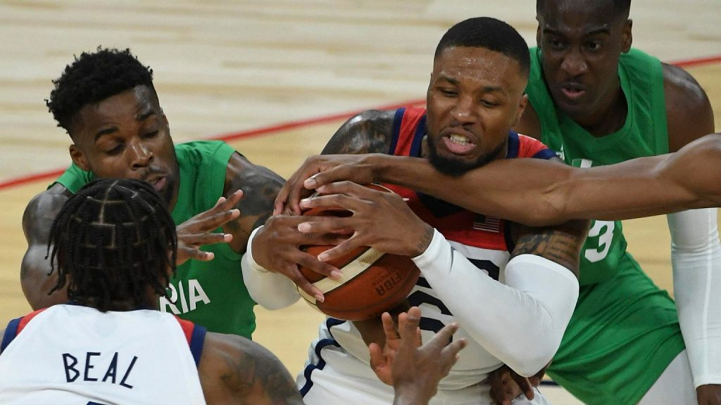 US warning before IO!  Basketball players have lost as many sparring matches in just a few days as they have in 29 years