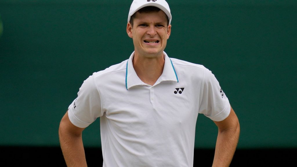 We know the rankings of tennis players in the tournament at the Olympics.  Hurkacz high