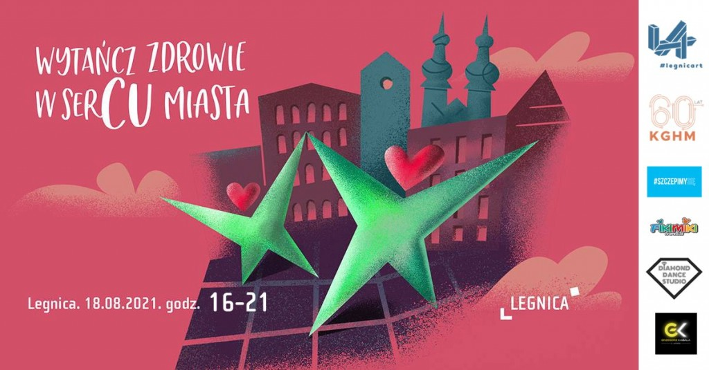 Healthy dancing in the heart of the city - Legnica