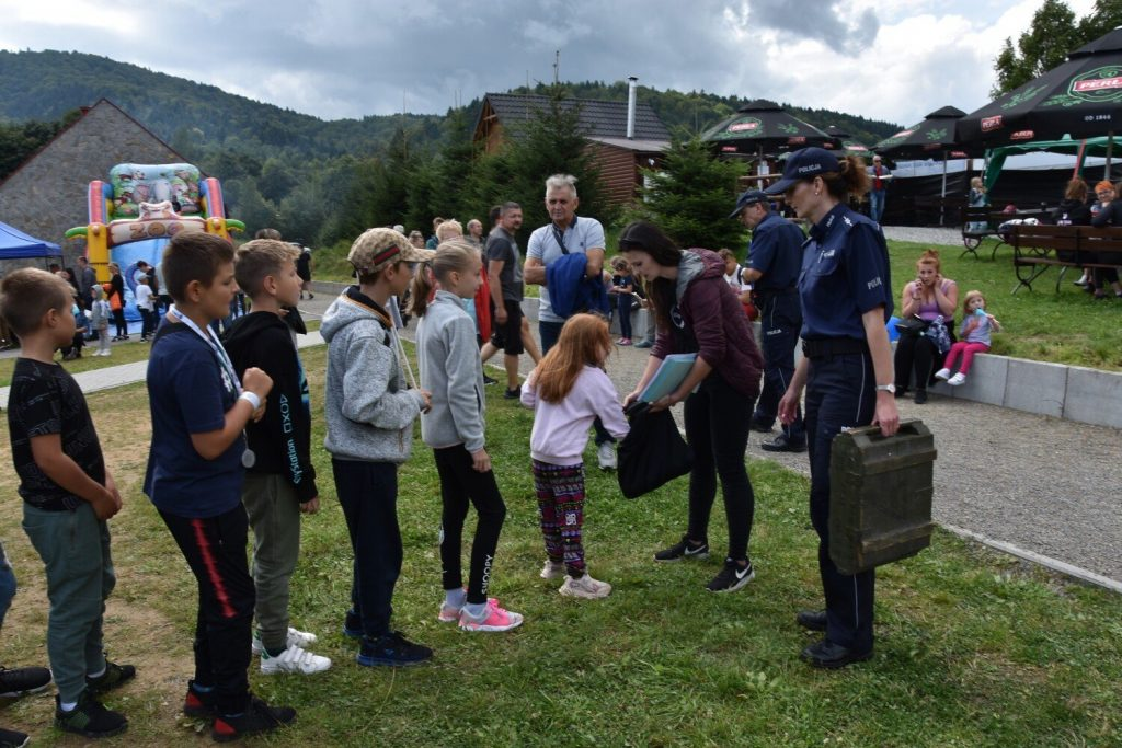 """Watershed in Klimkówka.  Family outing """"Safety, Fun and Science"""".  Lakeside presentations, workshops and lectures"""