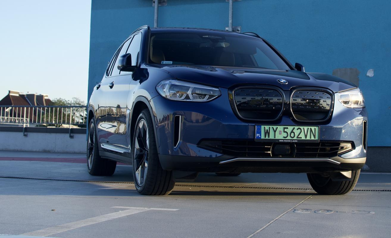 The BMW iX3 is based on the popular X3 SUV model.