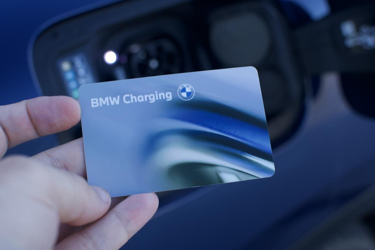 BMW ChargeNoW allows you to use with Greenway chargers.  It is also possible to charge the car at partner stations abroad.
