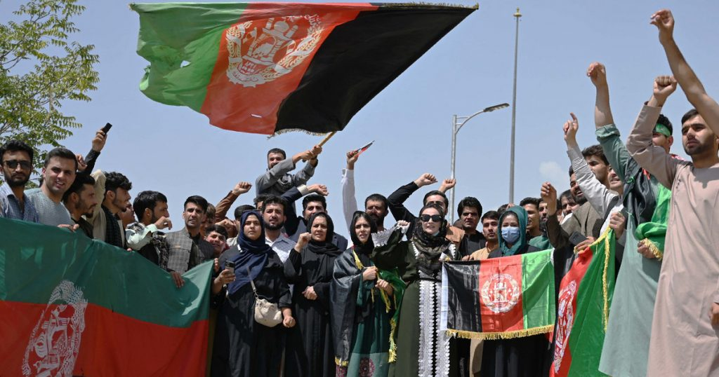 Afghanistan: Taliban bomb a demonstration.  Panic erupted and there are dead