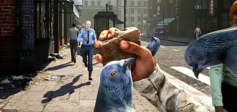 Boom simulator.  The homeless simulator surprises favorably.  Crazy game is now available