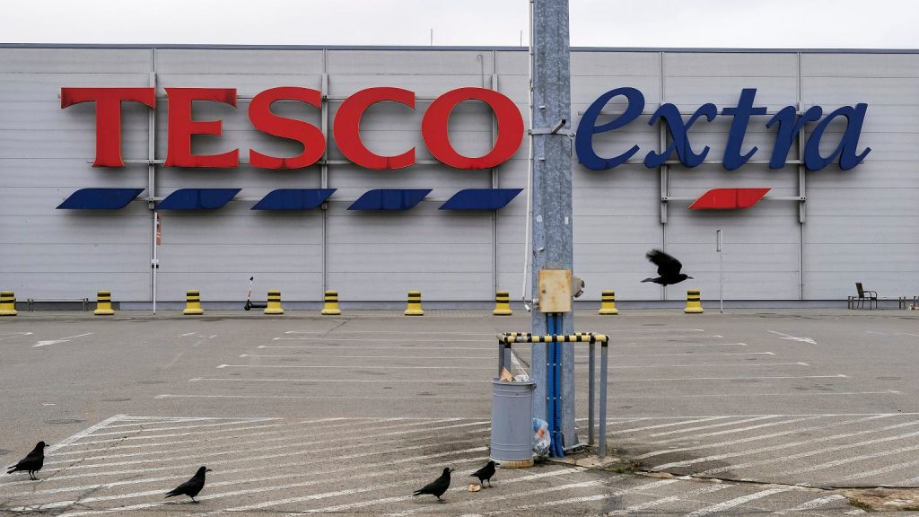 Definitely Tesco closes all over Poland.  Discounts up to 80%
