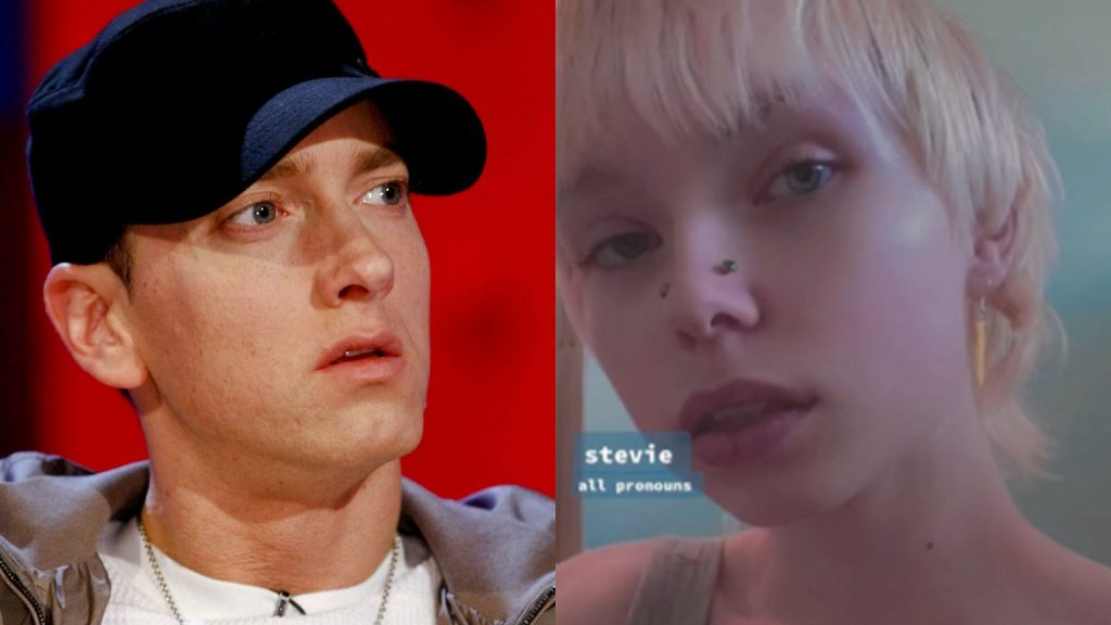 Eminem's child admitted that he is a non-binary person.  Stevie showed off his transformation