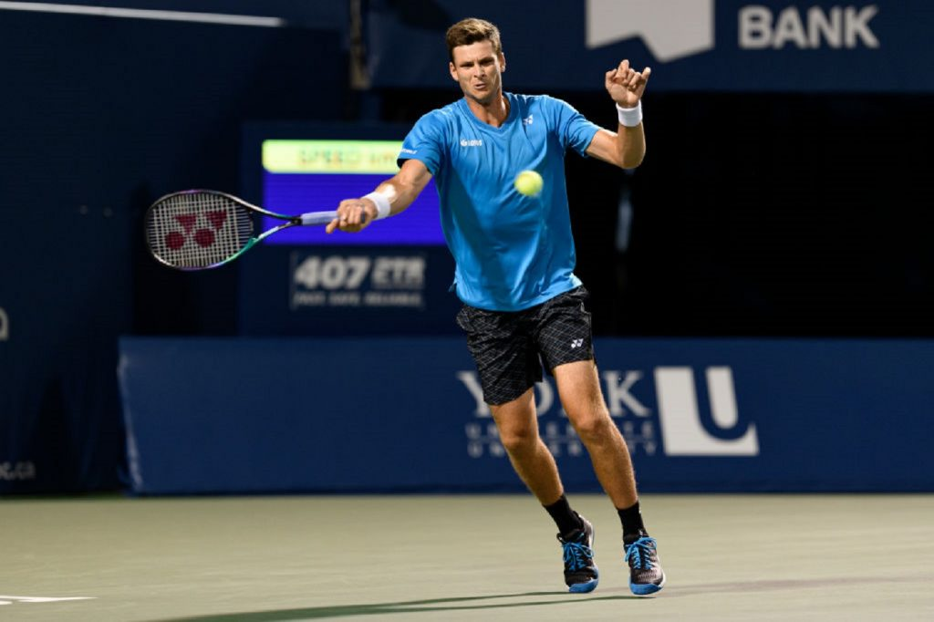 Hubert Hurkacz has caused quite a stir.  Great comeback in a match with the Olympic champions