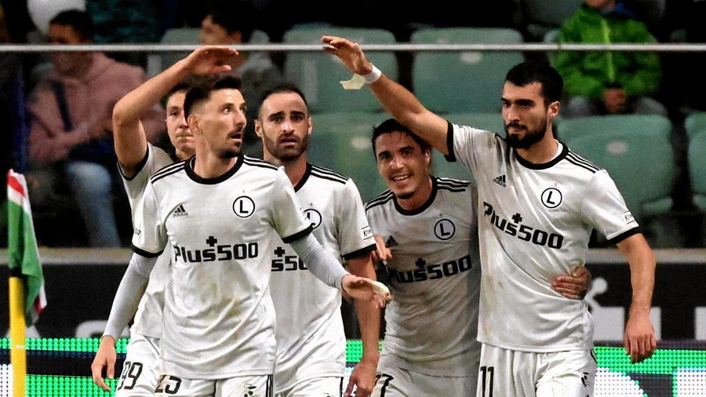 Legia Warszawa met potential rivals in the European League!  There is a division into football baskets